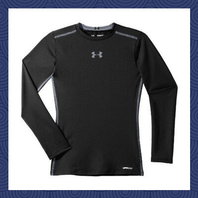 NWT Under Armour UA Boys' Long Sleeve Sonic Fitted T-Shirt $29.99 MSRP