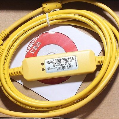 USB-SC09-FX MITSUBISHI FX Series PLC Programming Cable 1PC