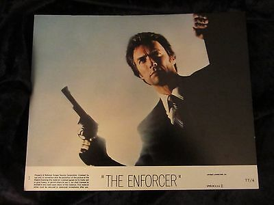 The Enforcer  lobby cards  - Clint Eastwood