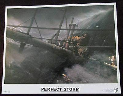 THE PERFECT STORM  lobby card #7 MARK WAHLBERG