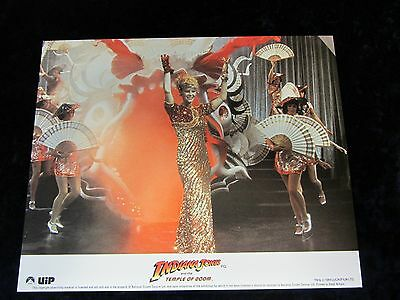 INDIANA JONES and the TEMPLE OF DOOM lobby card KATE CAPSHAW