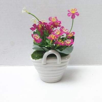 Artificial Silk Flower with Ceramic Pot Plant Bonsai Wedding Party Decors