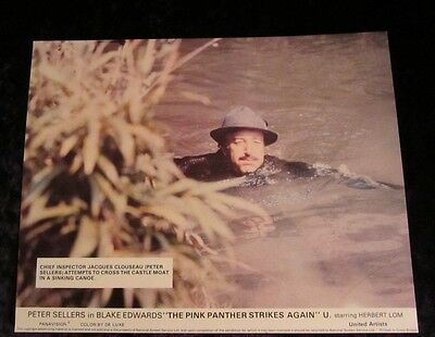 THE PINK PANTHER STRIKES AGAIN lobby card #6 PETER SELLERS