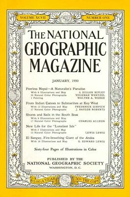 1950's The National Geographic Magazines Variation