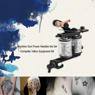Complete Tattoo Kit Professional Machine ROTARY Set GUN Multicolor Ink Exquisite