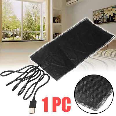 USB Carbon Fiber Heating Pad Washable Electric Cloth Heater Sheet With Cable 5V