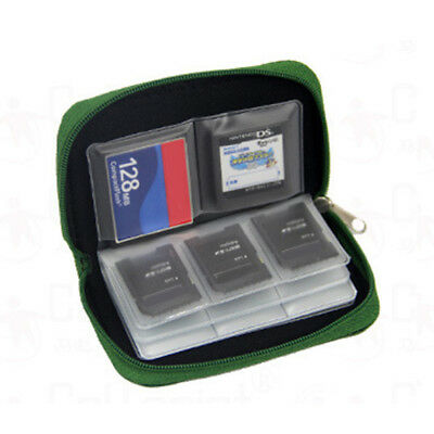 22 Slot Micro CF SD Memory Card Organizer Storage Carry Pouch Holder Wallet Case