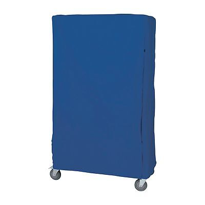 Quantum Wire Cart Cover-18 x 48 x 74 BLU Nylon Velcro Closure #CC184874BNV
