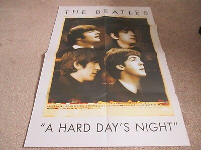 The Beatles Large Hard Days Night Poster