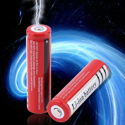 Unique Lightweight 18650 3.7V 3000mAh Rechargeable Li-ion Battery for Fla#wu