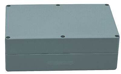 Electrical Enclosure Indoor Outdoor ABS Plastic High Impact 222 x 146 x 75 mm