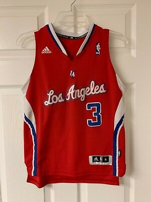 pretty nice aa310 364ca ADIDAS YOUTH LOS Angeles Clippers Chris Paul Jersey Size M
