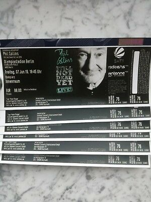 Tickets Phil Collins - 7.6.19 Berlin - Stehplatz Innenraum