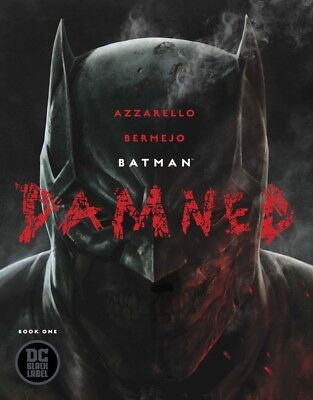 BATMAN: DAMNED #1 *NM cover-A *UNCENSORED* (w/hardcase)