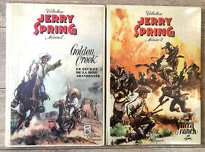 "E.o. C Jerry Spring 1 +2 Ed. Dupuis Jije "" Golden Creek + Yucca Ranch "" Tbe"
