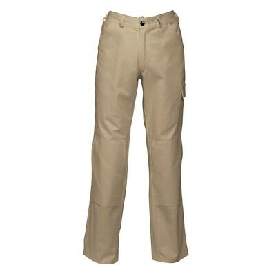 HAVEP Mens Khaki Brown Basic Work Trousers 8286 Size H53 Long Leg BNWT