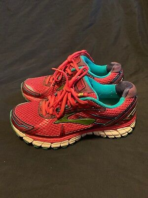4fcc6cbe5526c9 Brooks Adrenaline GTS 15 Women s Athletic Running Shoes Pink Size 7