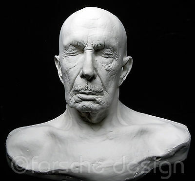 Vincent Price Life Mask Cast From Original Mold By Original Artist Complete Cast