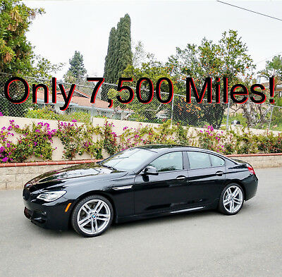 """2016 BMW 6-Series 650i Gran Coupe 2016 650i Twin-Turbo V8 Gran Coupe ///M Package 7,800 Miles 20"""" Wheels M"""