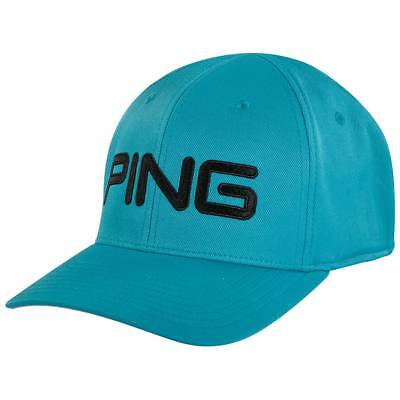 NEW 2018 PING Tour Structured White Cadet Grey Fitted L XL Golf Hat ... 3507db8bfdbe