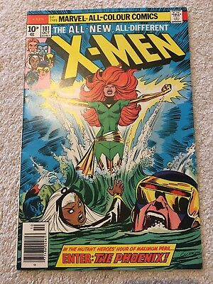 X-MEN #101 - 1st APPEARANCE OF PHOENIX - HIGH GRADE VF/NM