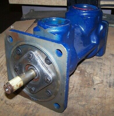 "Rebuilt Ingersoll Rand Centac Air Compressor Oil Pump 2"" X 2-1/2""  1X17152"