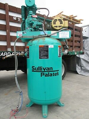 Sullivan / Palatek Reciprocating Air Compressor, 5 HP