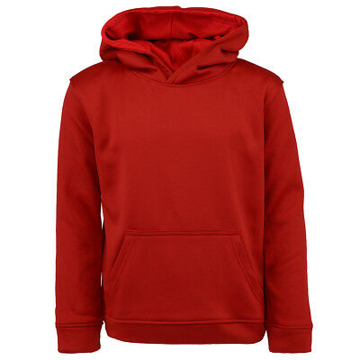 Champion Boys' Solid Performance Pullover Hoodie Brick Red XL