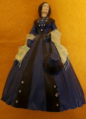 Gone with the Wind 1990 Collectible Figurine Mrs. O'Hara Franklin Mint Display