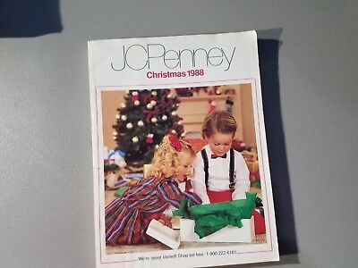 1988 JC Penney Catalog Christmas Fashion Home Decor Vintage Style Clothing