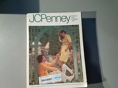 1981 JC Penney Catalog Spring Summer Fashion Home Decor Vintage Style Clothing