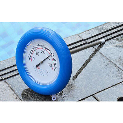 Swimming Pool Floating Thermometer Test Bath Tub Fish Pond Temperature Round