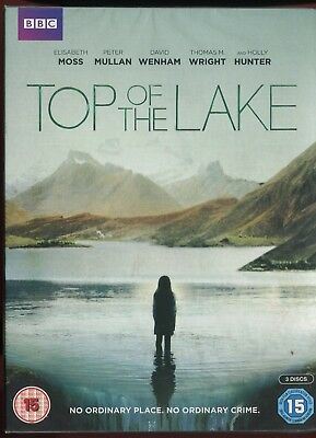 Top Of The Lake (DVD, 2013, 3-Disc Set) NEW SEALED REGION 2 UK RELEASE