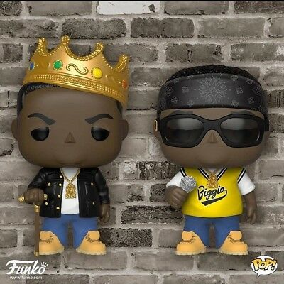 Pop Rocks Notorious B.I.G With Crown And Jersey Pop Vinyl Figure (77 And 78)