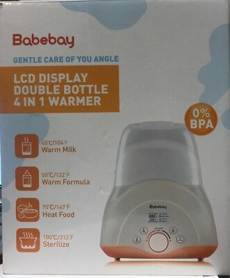 Babebay Baby Bottle Sterilizer & Smart Thermostat 4-in-1 with  Warmer