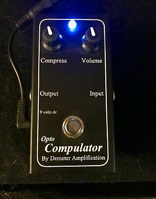 Demeter Compulator Optical Compressor Pedal