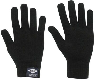 Boys Lee Cooper Gloves Size 11-12 yrs ~ NEW ~ Thick Knit ~ Mittens ~ MBC