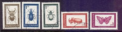 Bulgaria  1968  Insects, CTO.
