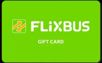 GIFT CARD - COUPON - CARTA REGALO  - SHOPPING  CARD -  FLIXBUS da 25€ a soli 20€