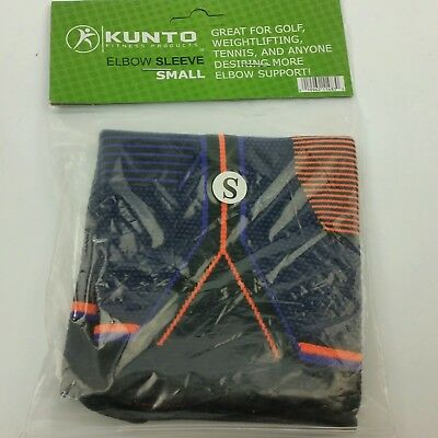 Kunto Fitness Elbow Brace Compression Support Sleeve Tennis Size S Small