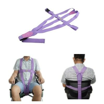 Safety Wheelchair Seat Belt Anti-slip Restraint Belt For Elderly Disabled