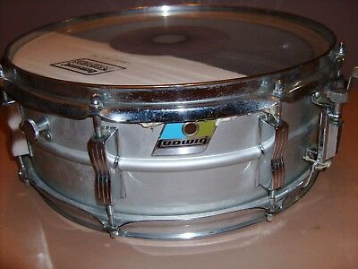 x3 Ludwig Blue//Olive Repro Badges w// Correct Brushed Metal Area for Serial #