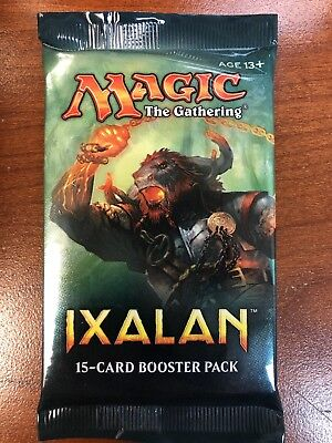 MTG - Ixalan - 15 Card Booster Pack - Factory Sealed - Quantity Discount