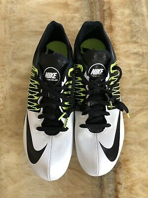 separation shoes 1afc8 c2517 Nike Zoom Celar 5 Track Field Spikes White Volt 629226-107 Size 13