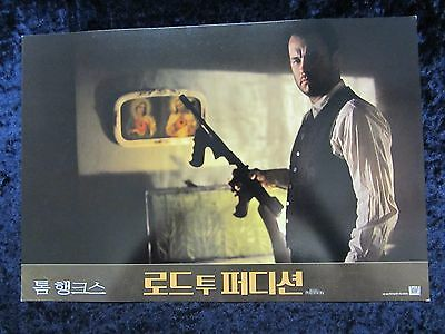 ROAD TO PERDITION  lobby card #1 - TOM HANKS, PAUL NEWMAN, JUDE LAW