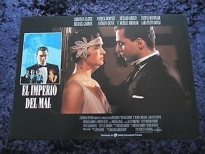 MOBSTERS lobby cards CHRISTIAN SLATER, PATRICK DEMPSEY, RICHARD GRIECO