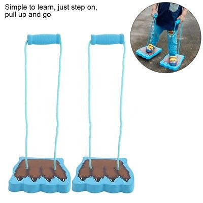 Children Kids Sports Toy Stilts Balance Running Jump Activity Outdoor Fun Game