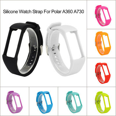 For Polar A360 A370 Sport Silicone Replacement Watch Band Wrist Strap Bracelet