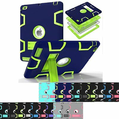 For iPad 9.7 2018 6th Gen A1893 A1954 Shockproof Heavy Duty Case Stand Cover YZ