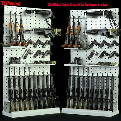 1/6 Scale 002 Modular Weapons Arms Display Wall Gun Rack Stand fit 12'' figure
